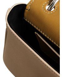Burberry - Brown Mini Dk88 Top Handle Bag - Lyst