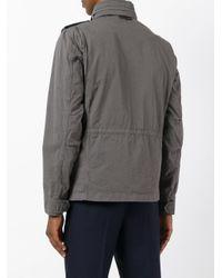 Tod's - Gray Cargo Pocket Jacket for Men - Lyst