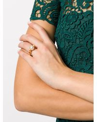 Chloé | White Pearl Cocktail Ring | Lyst