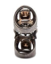 Loree Rodkin - Metallic Maltese Cross Bondage Diamond Ring - Lyst