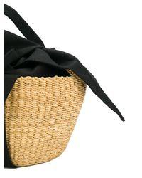Muuñ - Black Mini George Basket Tote - Lyst