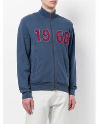 Sun 68 - Blue 1968 Track Jacket for Men - Lyst