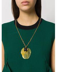 Marni - Multicolor Pendant Necklace - Lyst