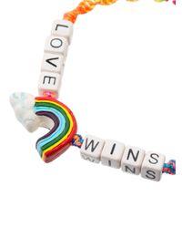 Venessa Arizaga - Multicolor Love Wins Bracelet - Lyst