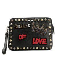 Dolce & Gabbana - Black Prince Of Love Clutch - Lyst