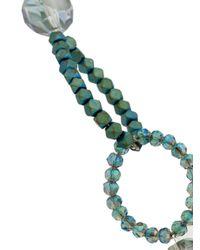 Night Market - Blue Beaded Necklace - Lyst