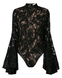 Misha Collection - Black Lolita Lace Body - Lyst