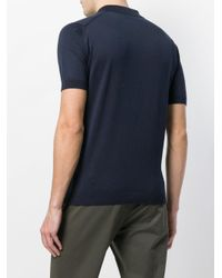 John Smedley - Blue Adrian Polo Shirt for Men - Lyst