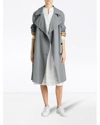 Burberry - Blue The Camden Car Coat - Lyst