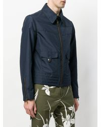 N°21 Blue Lightweight Cropped Jacket for men