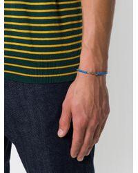 M. Cohen - Blue Stacked Sterling Bracelet for Men - Lyst