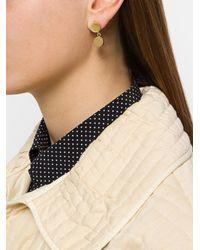 Isabel Marant - Metallic Booboo Double Drop Earrings - Lyst