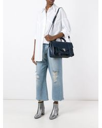 Proenza Schouler - Blue Ps1 Satchel - Lyst