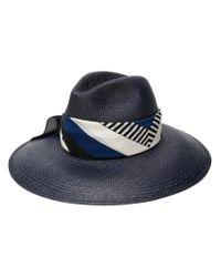 Borsalino - Blue Sophie Hat for Men - Lyst