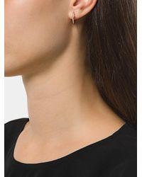 Shaun Leane - Metallic Cherry Branch Diamond Hoop Earring - Lyst