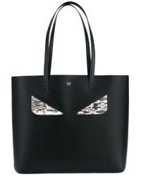 Lyst - Sac à main Bag Bugs Fendi en coloris Noir b044e33ad68
