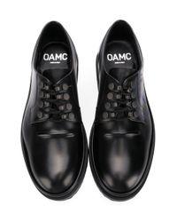 OAMC - Black Klassische Derby-Schuhe for Men - Lyst