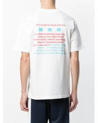 Alltimers - White Show Me Love T-shirt for Men - Lyst