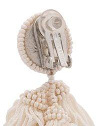 Sachin & Babi - White Chacha Earrings - Lyst