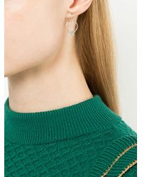 Petite Grand - Metallic Sun And Star Earrings - Lyst