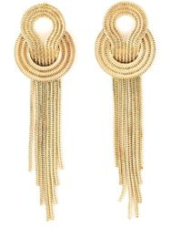 Lara Bohinc - Yellow 'saturn' Earrings - Lyst
