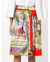 Etro - Multicolor Circus Printed Midi Skirt - Lyst