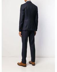 Tagliatore Blue Three Piece Suit for men