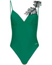 Pinko - Green Jaqueline Swimsuit - Lyst