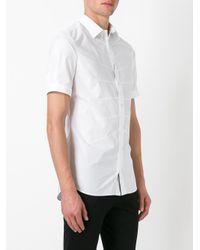 Alexander McQueen | White Darted Shirt for Men | Lyst