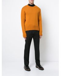 Cmmn Swdn - Black Rod Trousers for Men - Lyst