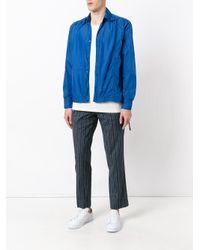 Marni - Blue Lightweight Jacket for Men - Lyst