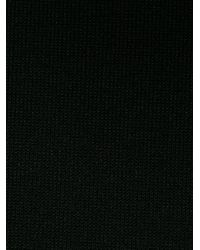 DSquared² - Black Floral Embroidered Sweatshirt for Men - Lyst