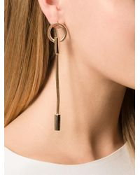 Lara Bohinc - Metallic 'schumacher' Earrings - Lyst