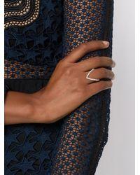 Yvonne Léon - Metallic Vivianne Diamond Ring - Lyst