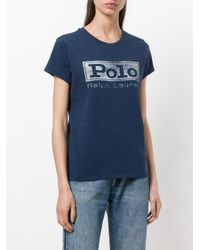 Polo Ralph Lauren - Blue Polo T-shirt - Lyst