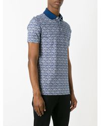 Fashion Clinic Timeless - Blue Polo Shirt for Men - Lyst