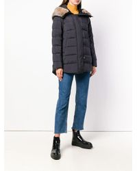 Peuterey - Black Padded Loose Jacket - Lyst