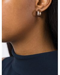 Jezebel London - Metallic 'margaret Hoops' Earrings - Lyst