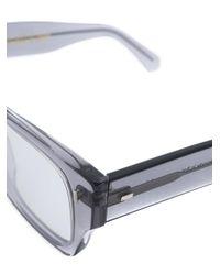 Cutler & Gross - Gray Chunky Eyeglasses for Men - Lyst