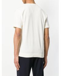 Mauro Grifoni - White Crew Neck T-shirt for Men - Lyst