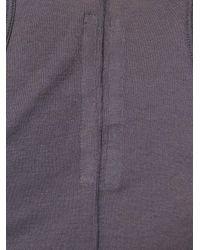 Rick Owens - Multicolor Curved Hem Tank Top - Lyst