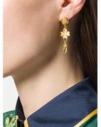 Aurelie Bidermann - Metallic Aurelie Earrings - Lyst