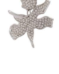 Lele Sadoughi - Metallic Oversized Flower Earrings - Lyst