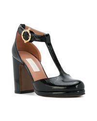 L'Autre Chose - Black Vogue D'orsay Court Shoes - Lyst