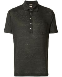 Massimo Alba - Gray Polo Shirt for Men - Lyst