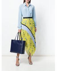 Ferragamo - Blue Classic Shopper Tote - Lyst