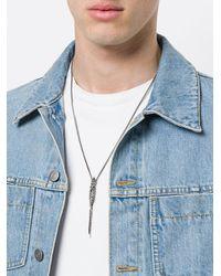 Emanuele Bicocchi | Metallic Skull Chain Necklace for Men | Lyst