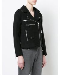 Anine Bing - Black Moto Jacket - Lyst