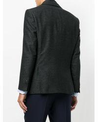 BOSS - Gray Removable Underlayer Jacket for Men - Lyst