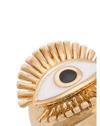 Chloé - Metallic Eye-motif Ring - Lyst
